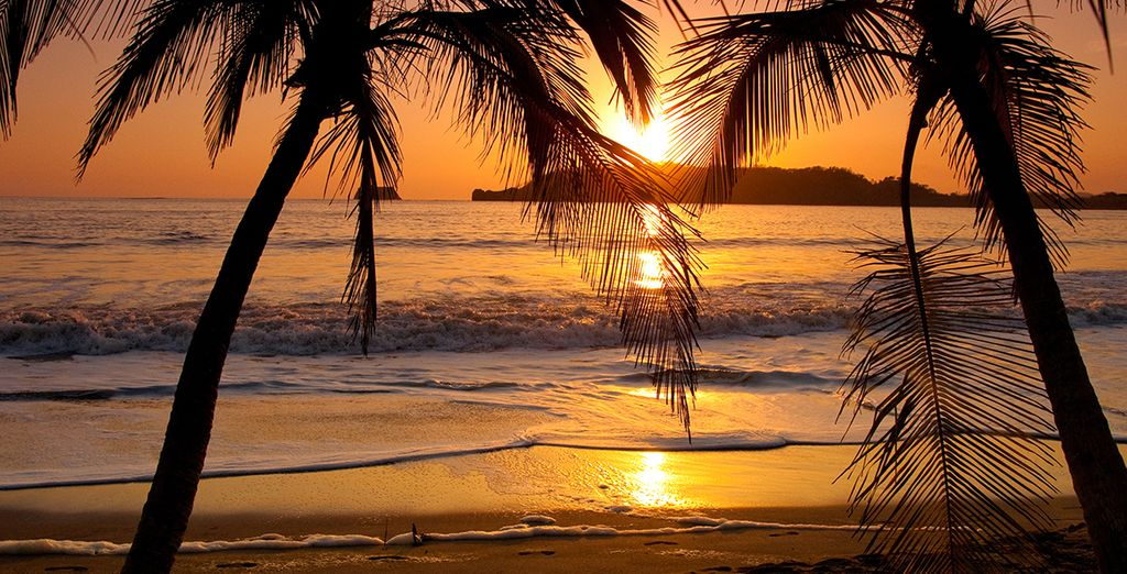 Until the sun sets on a stunning holiday