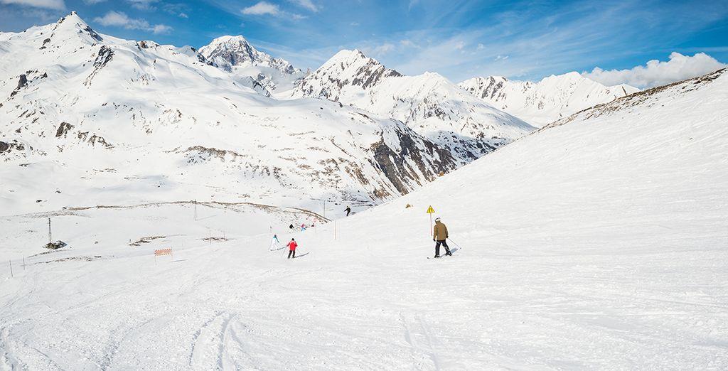 A luxury hotel in ski paradise!