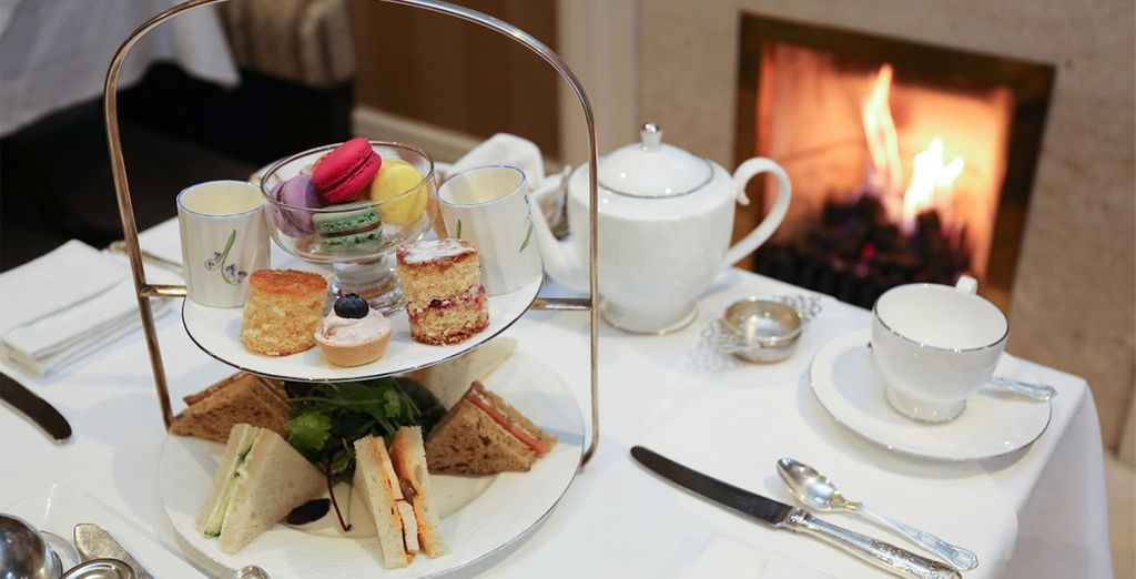 Then return to your hotel for a delicious Afternoon Tea.