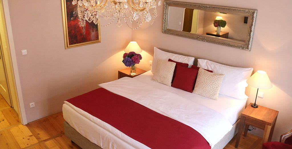 Relax in your spacious Deluxe Room