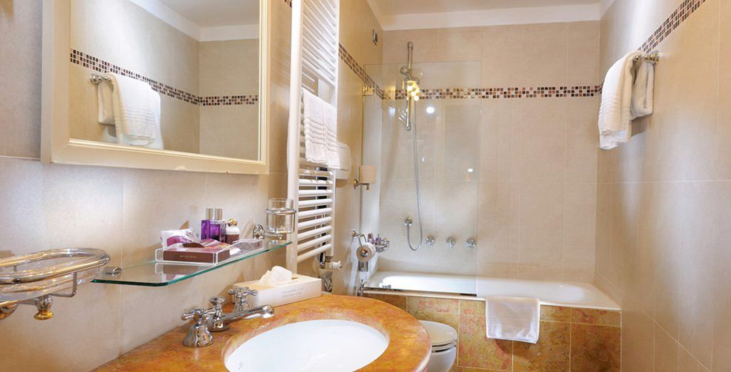 Superb bathrooms