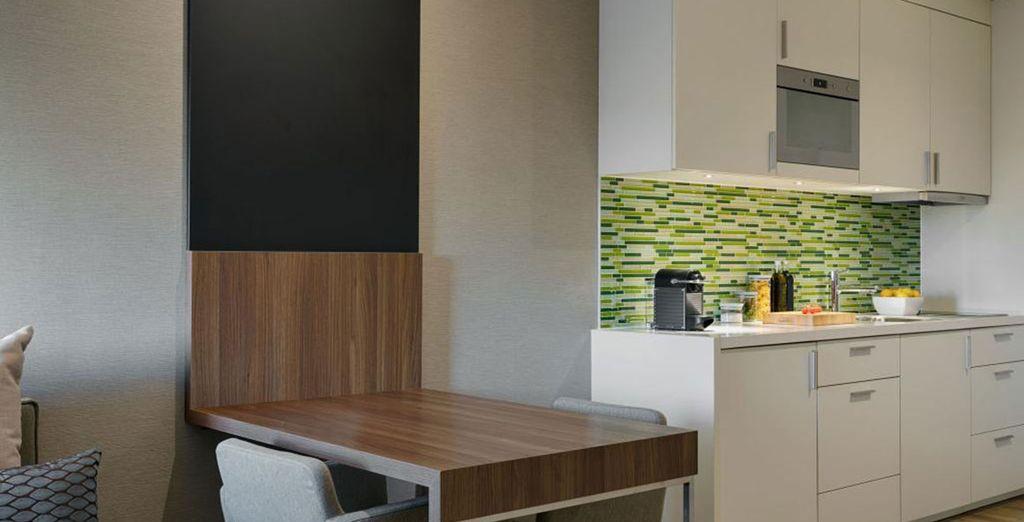 Sleep well in your eco-friendly studio