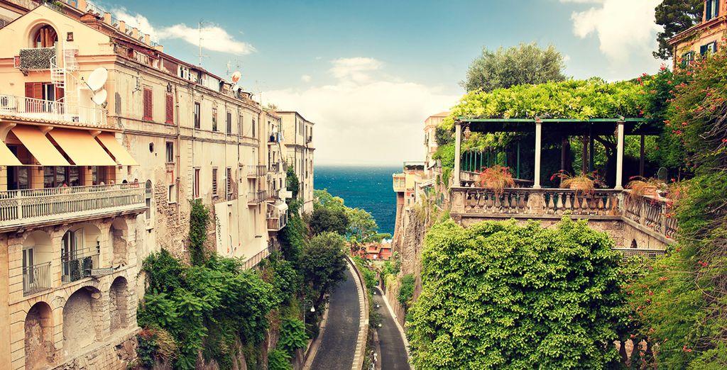 Explore Sorrento's pretty streets