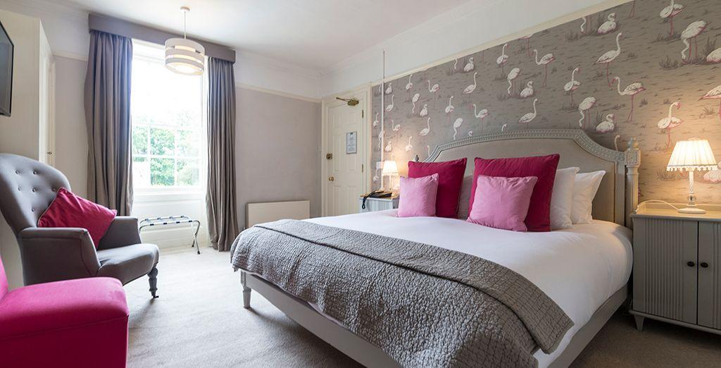 With elegant rooms