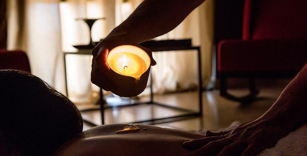 Enjoy a relaxing treatment