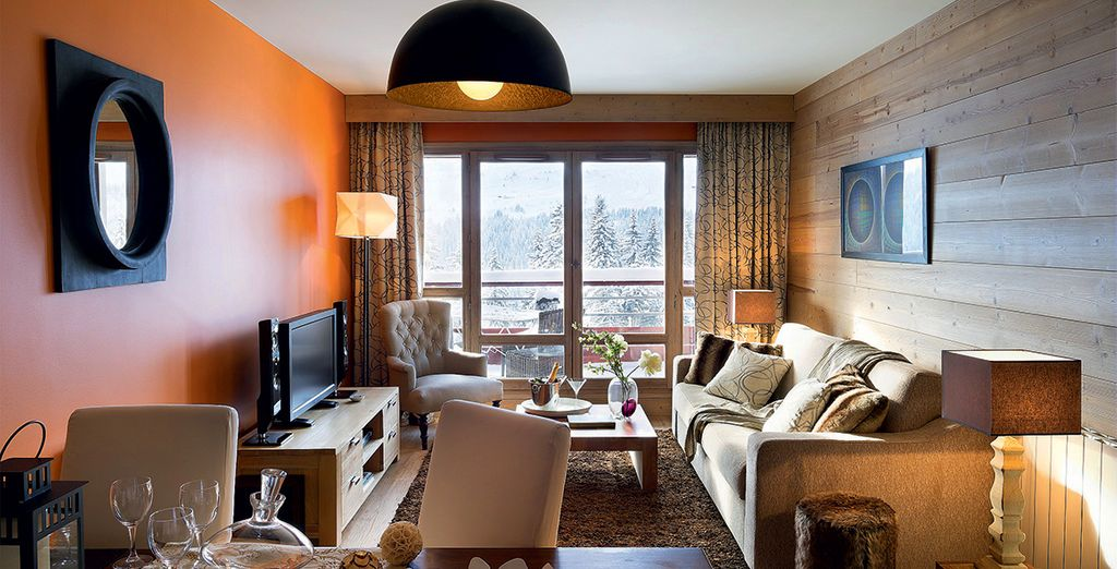 Stay in a cosy apartment at Les Terrasses d'Hélios 5*