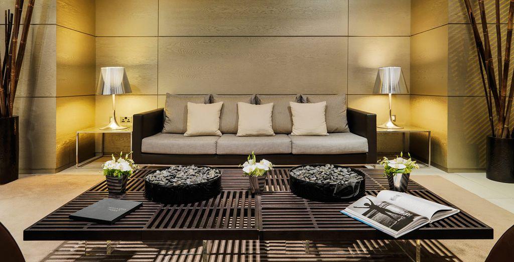 Where strikingly stylish decor meets you as soon as you enter