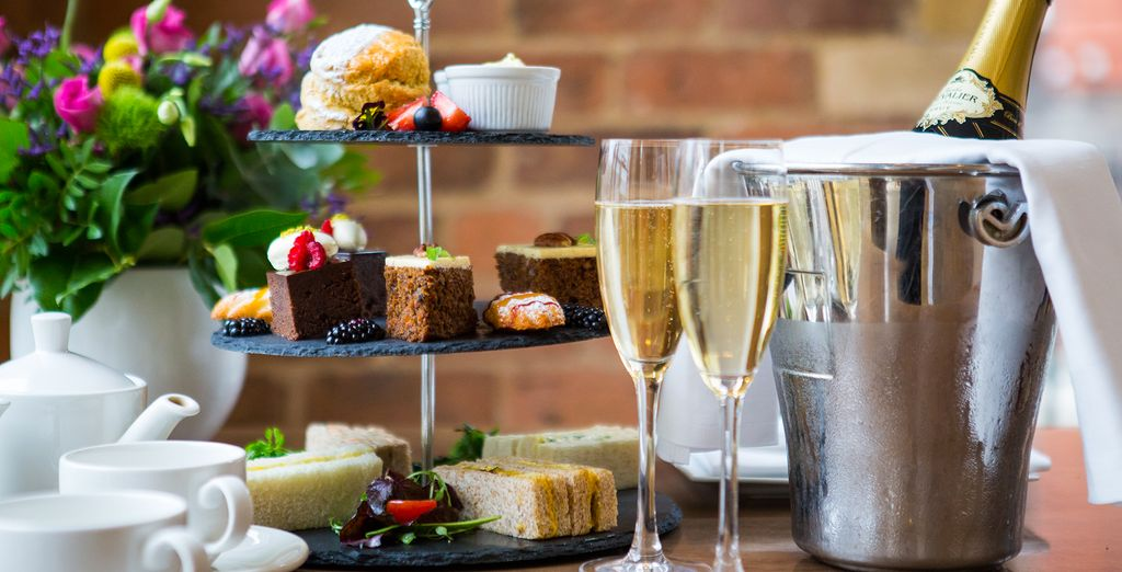 Why not treat yourself to an Afternoon Tea?
