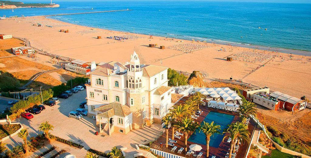 Soak up the sunshine on the Algarve's famous beaches