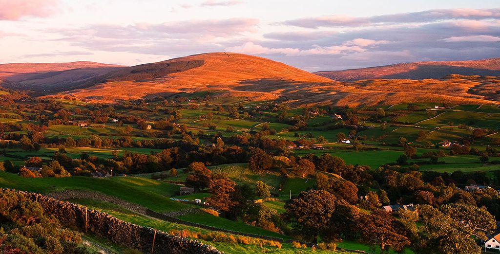 Discover the sweeping magnificence of the Yorkshire Dales