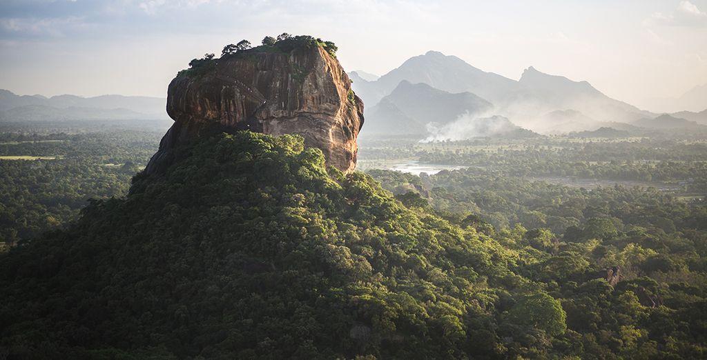 Visit the Sigiriya Rock Fortress