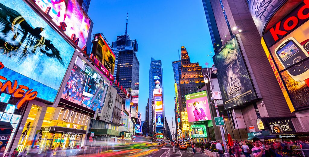 Discover the city that never sleeps
