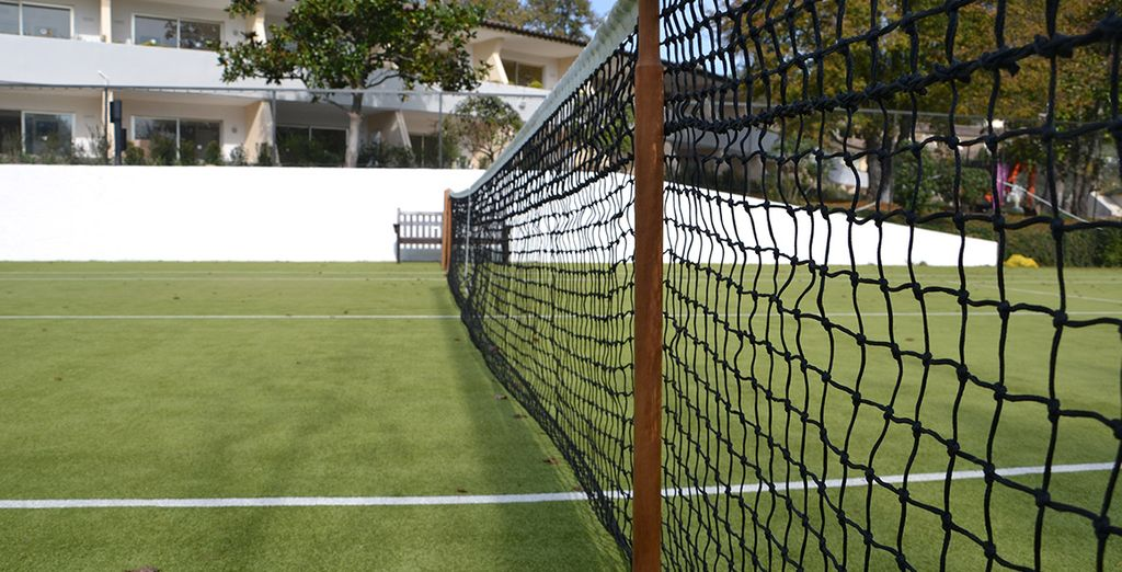Or perhaps liven things up with a spot of tennis?