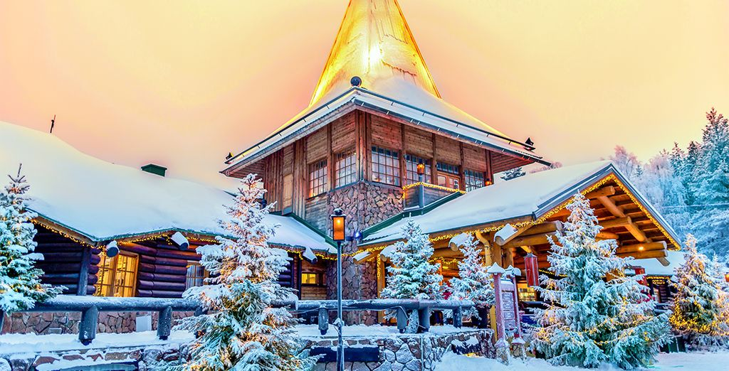 You'll also visit Rovaniemi