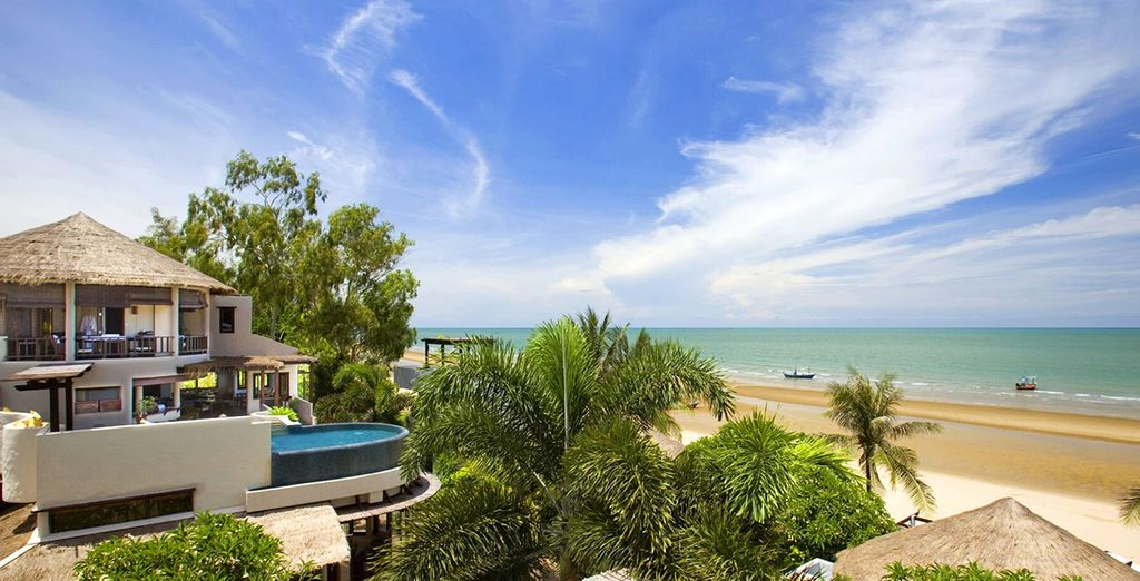 An award winning boutique property, right on the beach