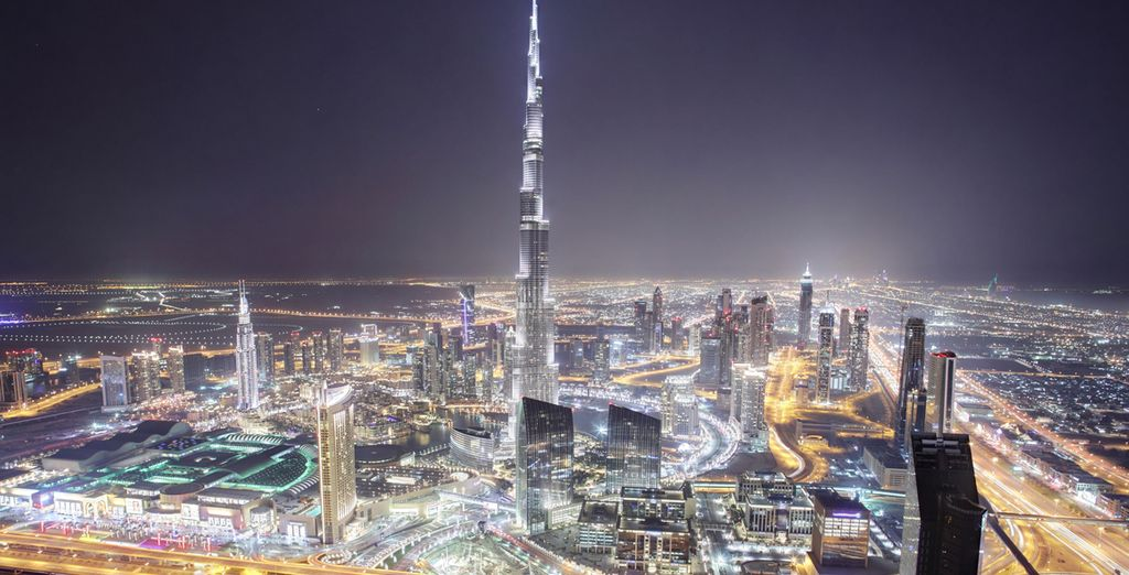 Go to the top of the tallest building in the world