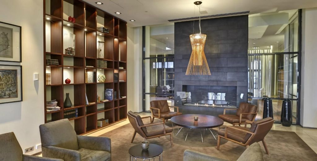While staying at the ultra stylish Hilton Nordica