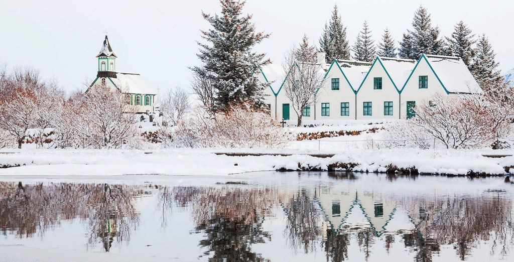 Lose yourself in this winter wonderland