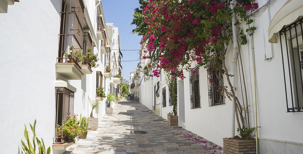 And the charming old town of Marbella
