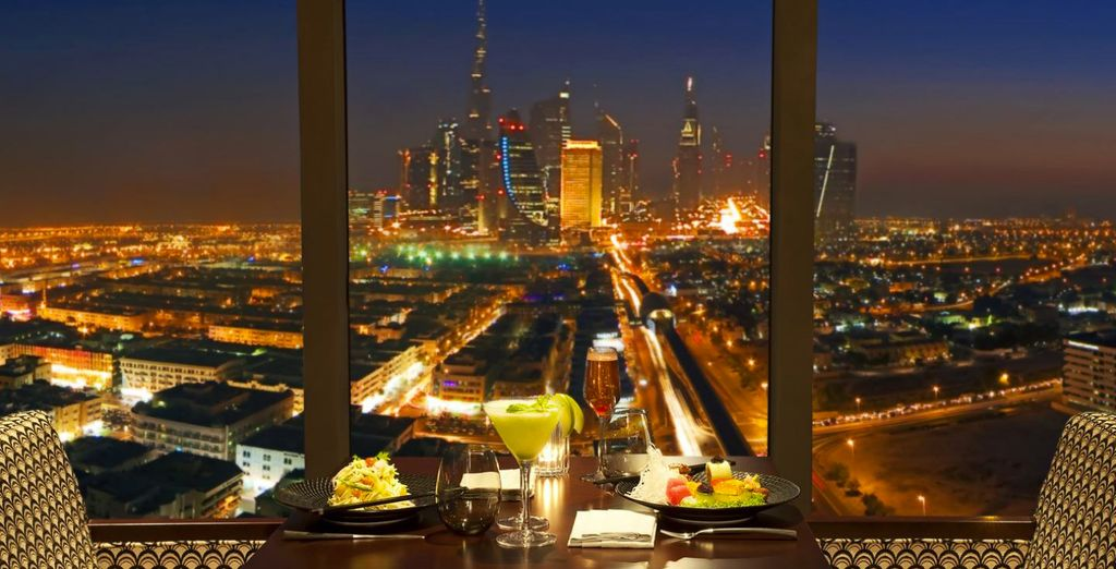 Imagine having a meal with this marvellous view....