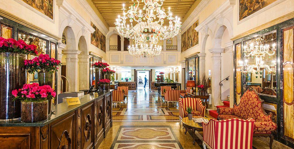 Stunning luxury interiors welcome you....
