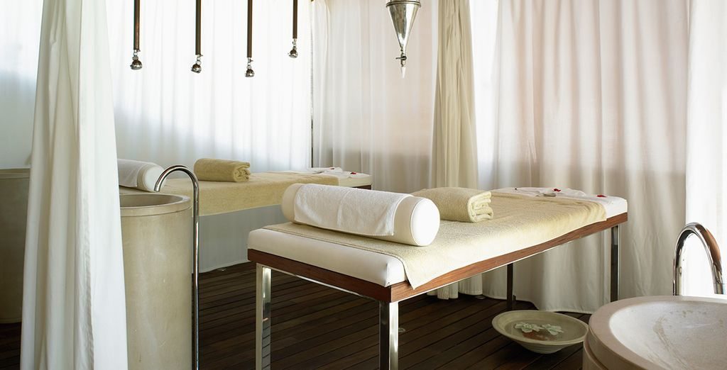 We've included a discount voucher for treatments and massages too