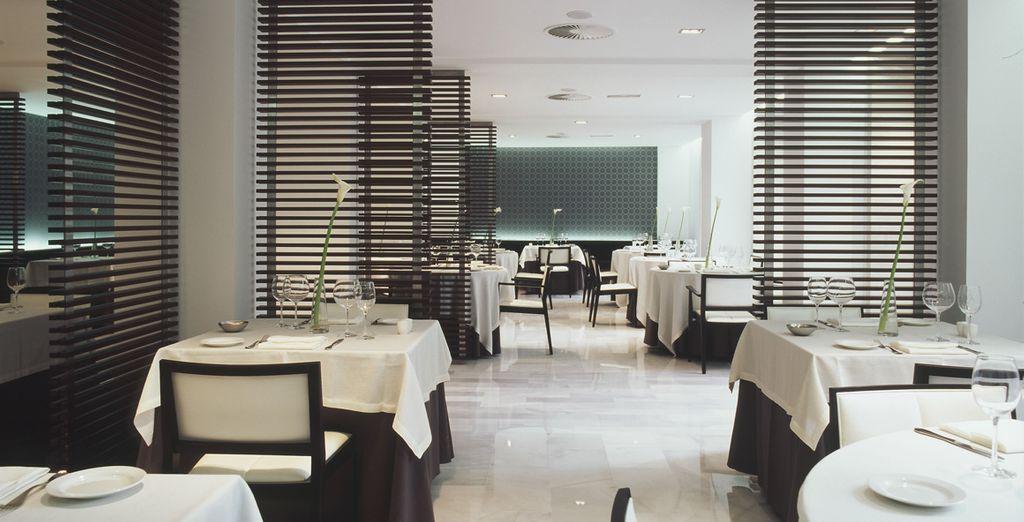 Don't miss the delicious, romantic restaurant
