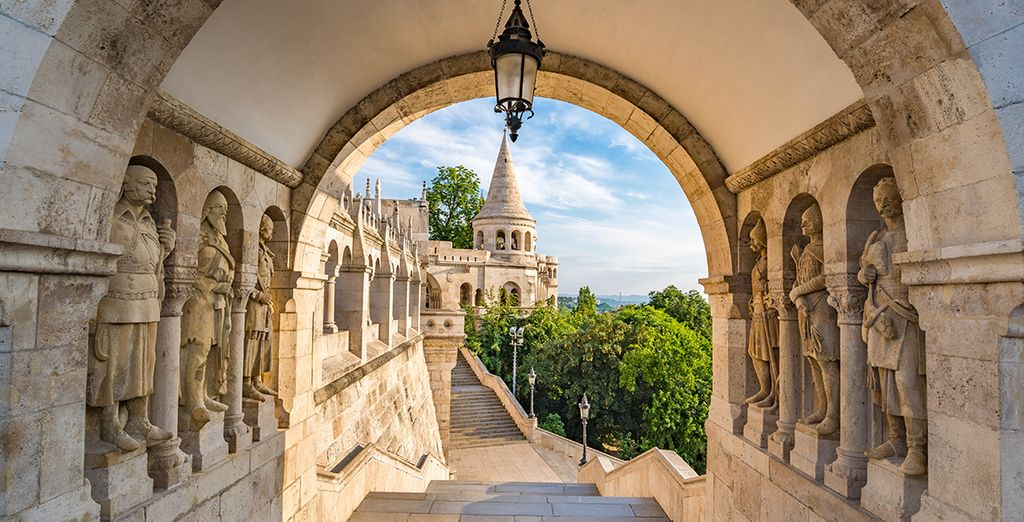 And set out to explore the iconic landmarks of Budapest
