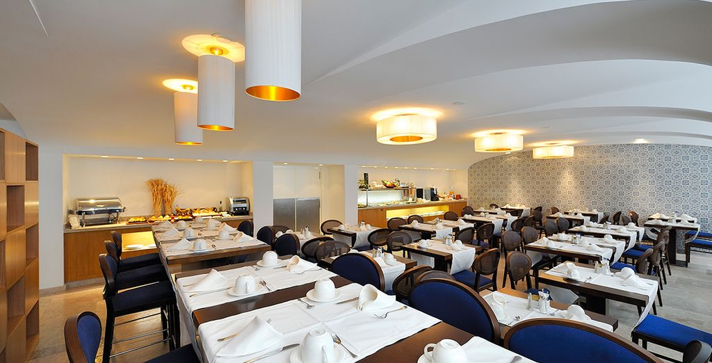 Enjoy the hotel's restaurant