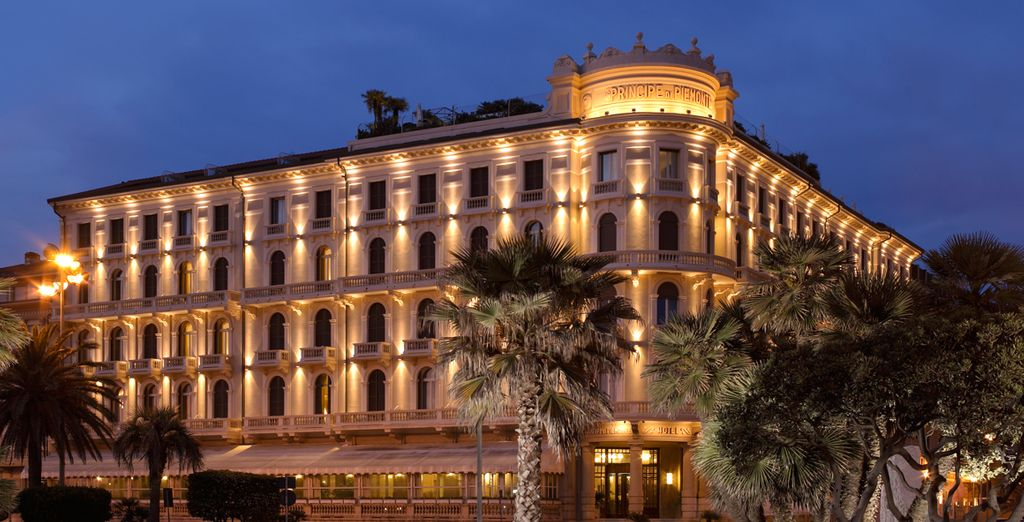 Welcome to the Grand Hotel Principe di Piemonte