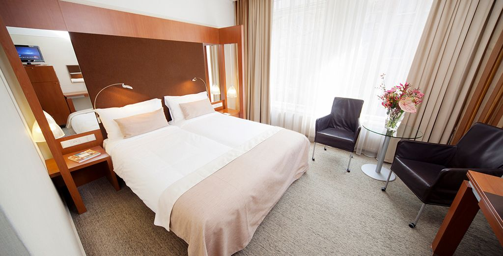 Our members will enjoy a stay in a comfortable Standard Room