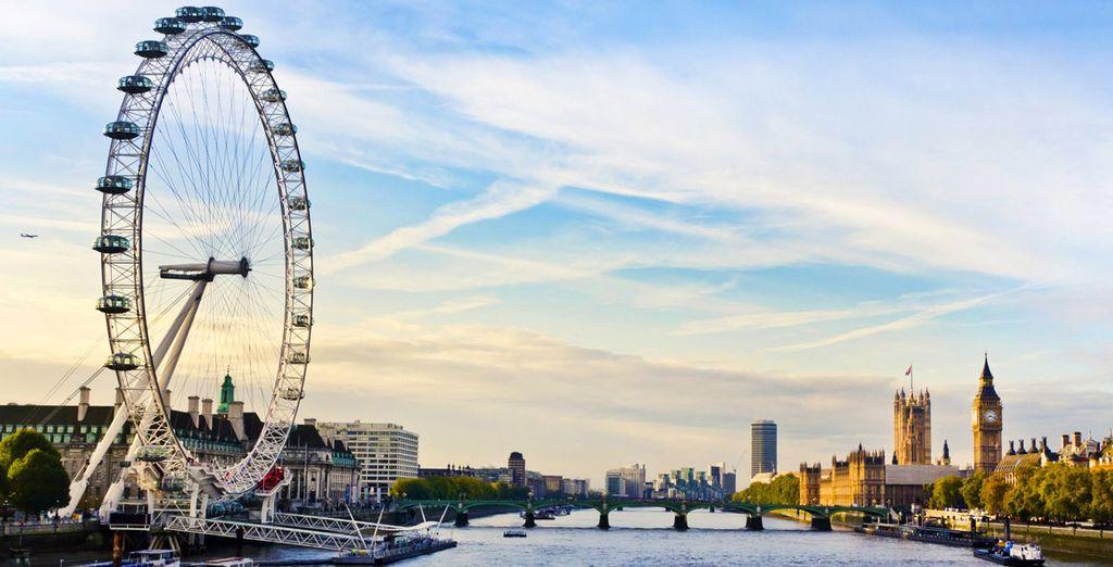 A London adventure beckons!