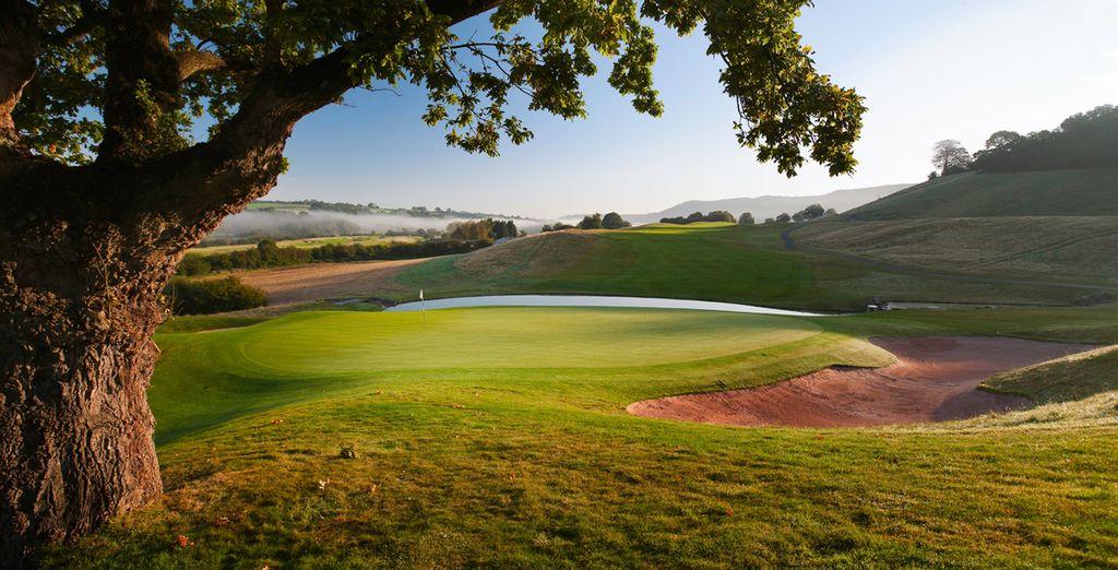 Enjoy a fabulous round of golf