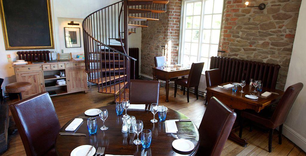 ...the idyllic riverside inn of Newbridge Restaurant...