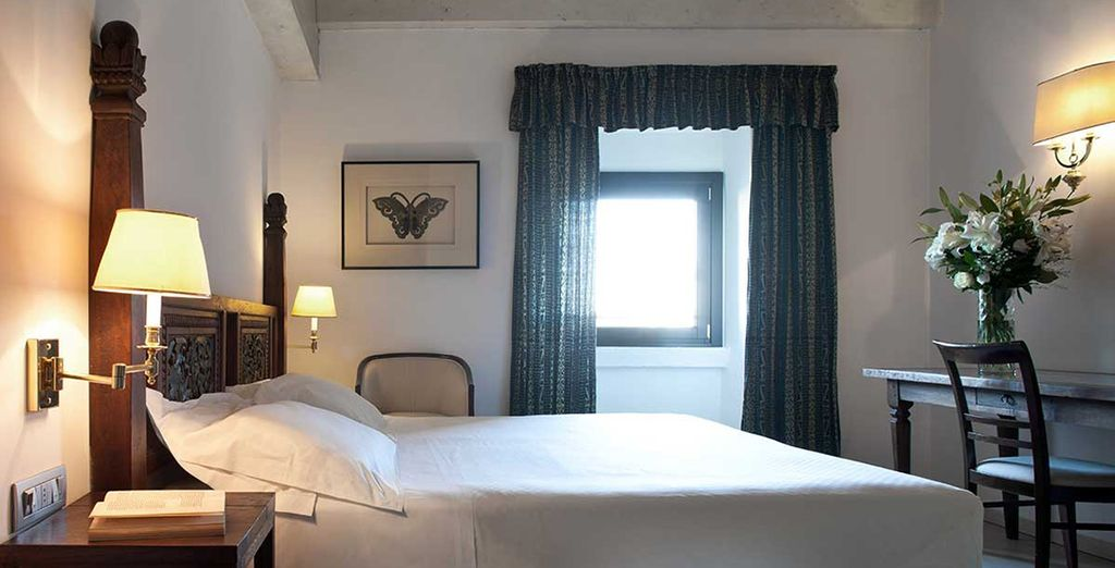 Settle into your Deluxe Room