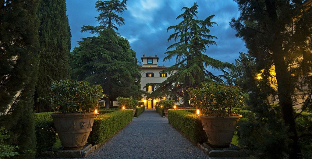 Discover authentic Italian elegance perfectly blended with the beauty of nature
