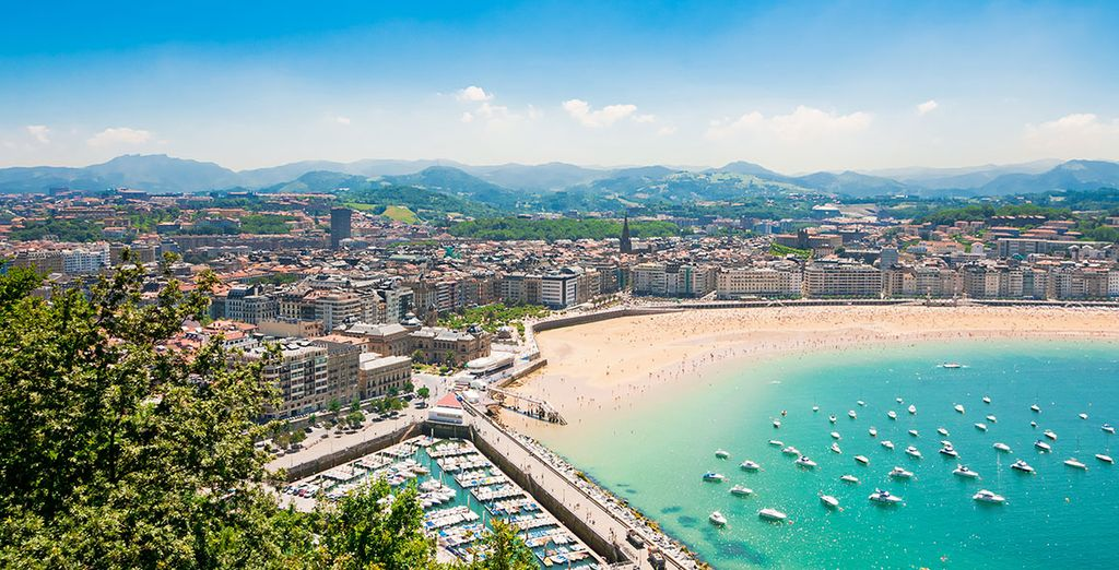 In the excellent region of San Sebastian