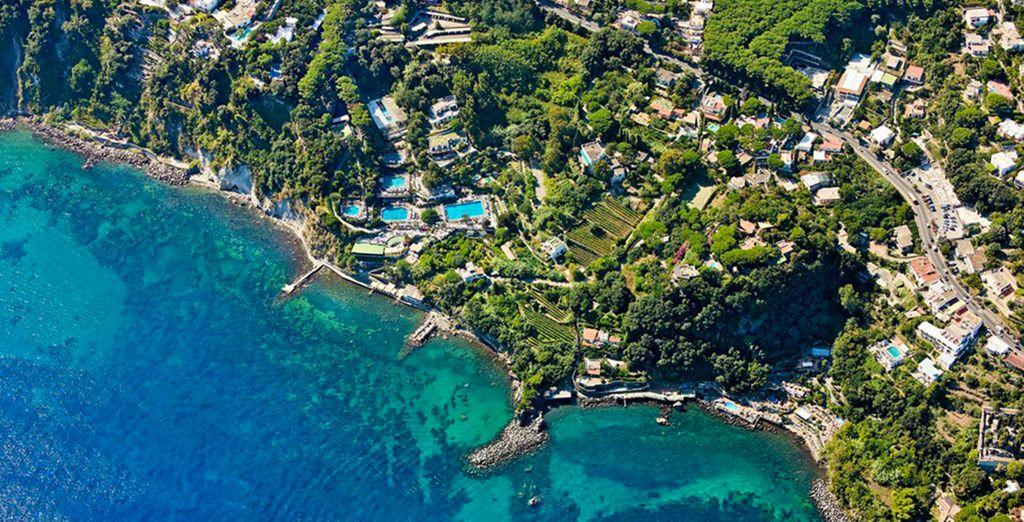 On the beautiful Italian island of Ischia