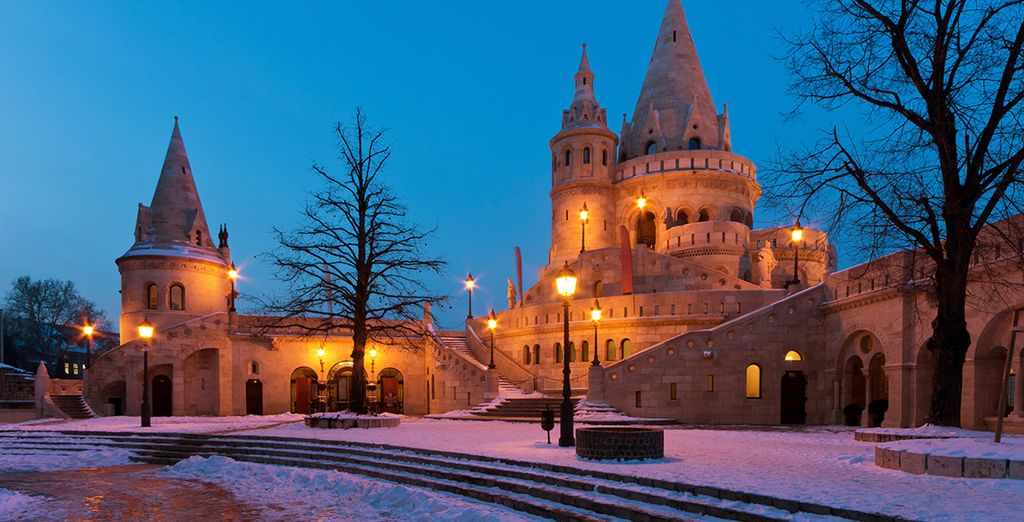 Budapest is especially magical Winter