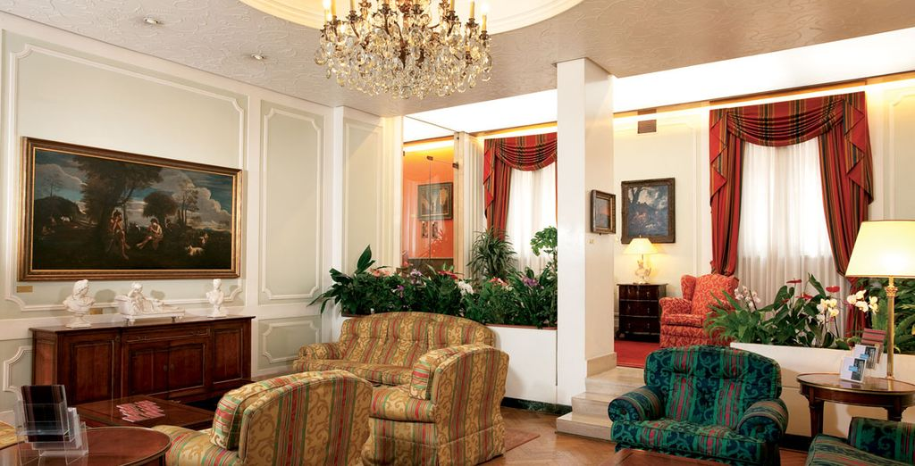 A refined and historic hotel awaits