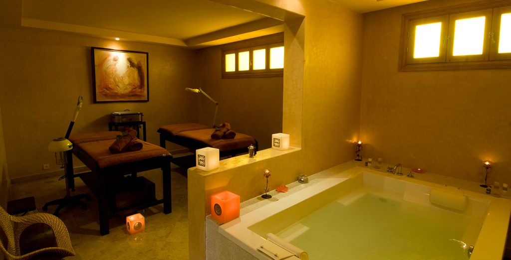 Enjoy a 30-minute massage (1 per person) included with your stay...