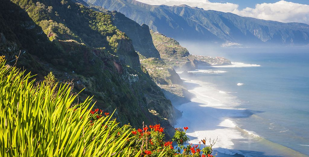 On the beautiful island of Madeira