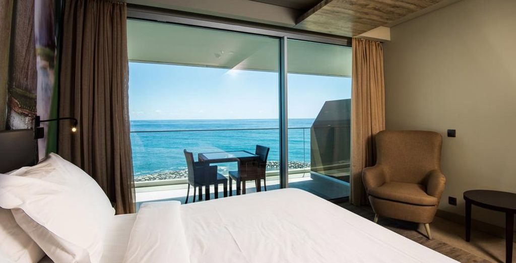 Or opt instead for a Sea View Room