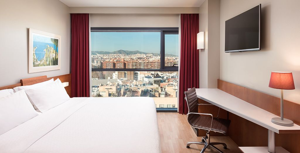 Why not upgrade yourself to an Executive Room at the next stage of the booking process?