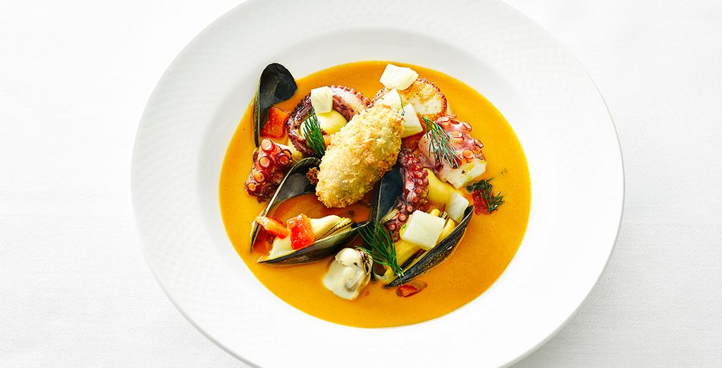 Stay for two nights and enjoy a complimentary set 2 course lunch at Michelin Starred Outlaws restaurant