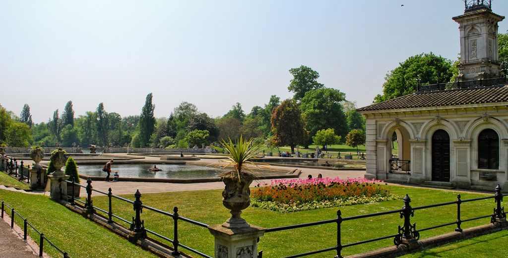 And if you feel like a break, you're right next to one of the biggest parks in London, Hyde Park