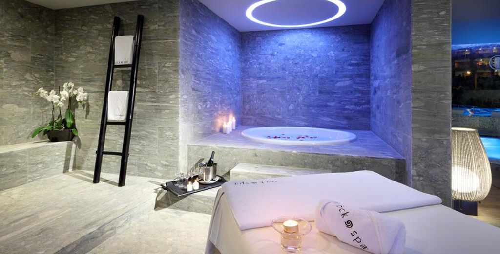 Or pamper yourself at the spa