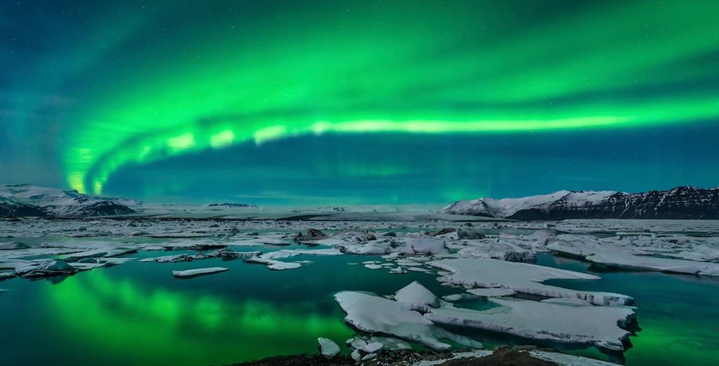 You might catch a glimpse of the Northern Lights when...