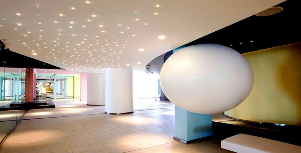 Featuring unique, contemporary interiors...