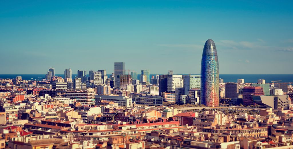 You are only 25 miles from Barcelona - ideal for a day trip